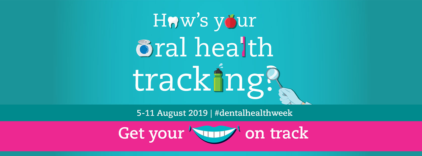 Are you on track with your oral health?
